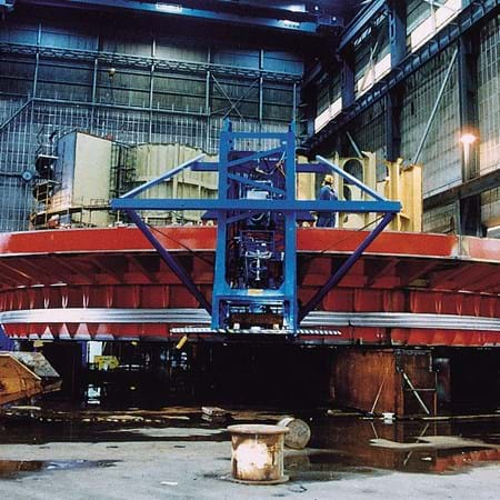 Metalock Engineering Photo - 22 Meter Offshore Mooring Fabrication