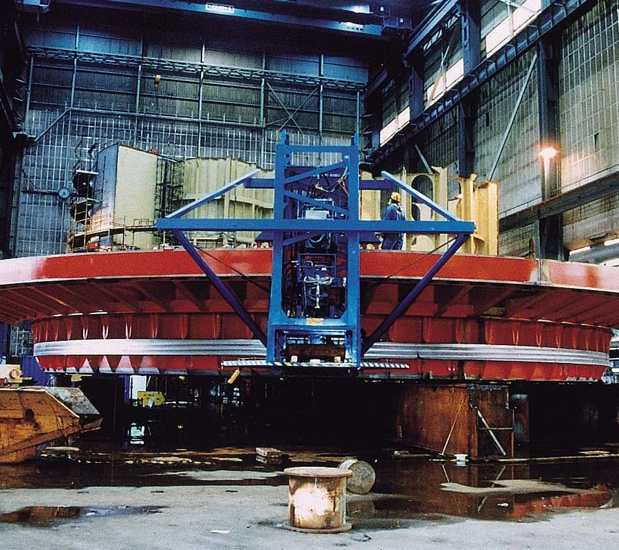 22 Meter Offshore Mooring Fabrication