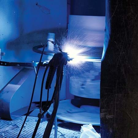 Metalock Engineering Photo - Controlled application using robotic arm