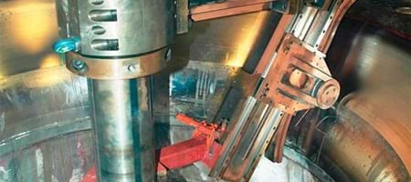 Culligran Hydro - complex runner chamber profile machining