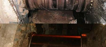 Lafarge Cement - Cement Mill Shaft Restorations