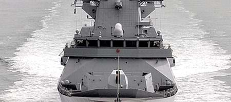 Type 45 Destroyers - Major In-Situ Machining Contract
