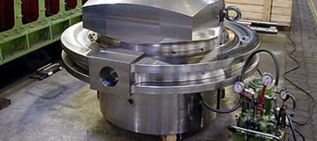 Cutting of a Vertical Turning and Boring Machine
