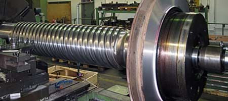 Repair on a Conventional Turning Machine