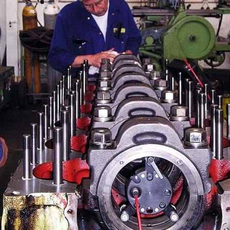 Metalock Engineering Photo - Engine Alignment