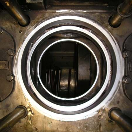 Metalock Engineering Photo - Marine diesel cylinder repair after machining