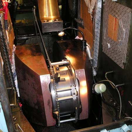 Metalock Engineering Photo - Machining crankpin journal