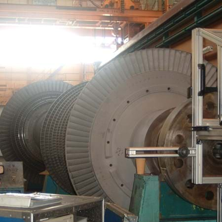 Metalock Engineering Photo - Turbine Rotor bore honing