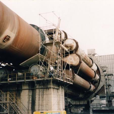 Metalock Engineering Photo - Rotary Kiln