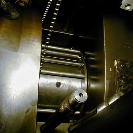 Main Bearing Pocket Machined Whilst Crankshaft Remains In-Situ