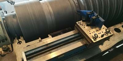 In-situ Machining of Rotor Seals in Pakistan