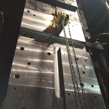 Roller cage machining